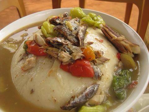 Entre avaler ou manger le foufou for Yankey cuisine africaine a volonte